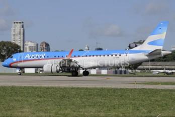 LV-CHR - Austral Lineas Aereas Embraer ERJ-190 (190-100)