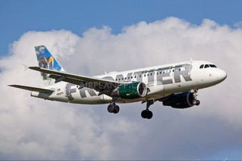 N942FR - Frontier Airlines Airbus A319