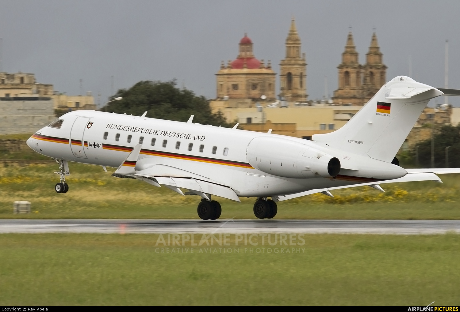 Germany - Air Force 14+04 aircraft at Malta Intl