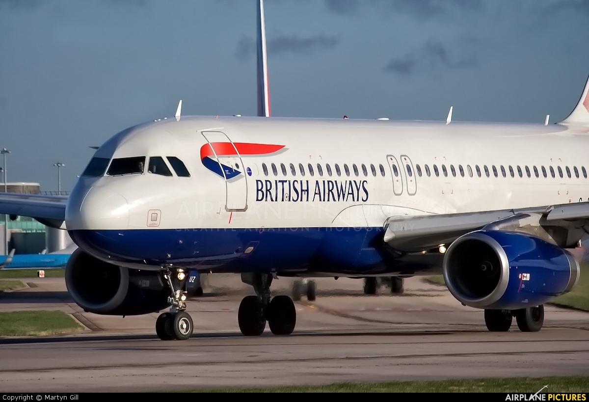 British Airways G-EUUZ aircraft at Manchester