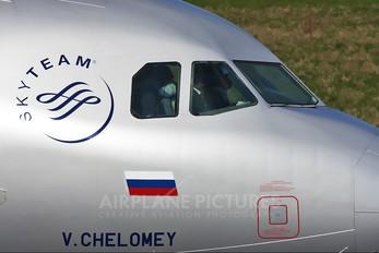 VQ-BCN - Aeroflot Airbus A320