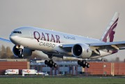 A7-BFA - Qatar Airways Cargo Boeing 777F aircraft