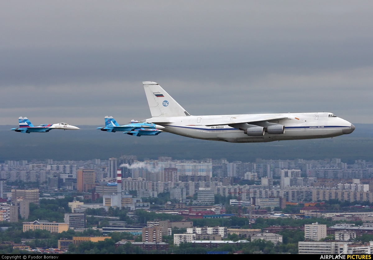 Russia - Air Force RA-82028 aircraft at In Flight - Russia