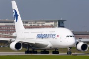 F-WWSU - Malaysia Airlines Airbus A380 aircraft