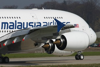 F-WWSU - Malaysia Airlines Airbus A380