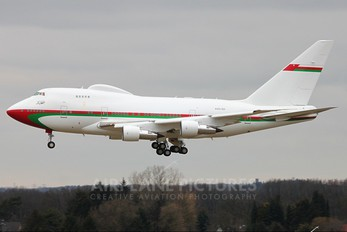 A4O-SO - Oman - Royal Flight Boeing 747SP