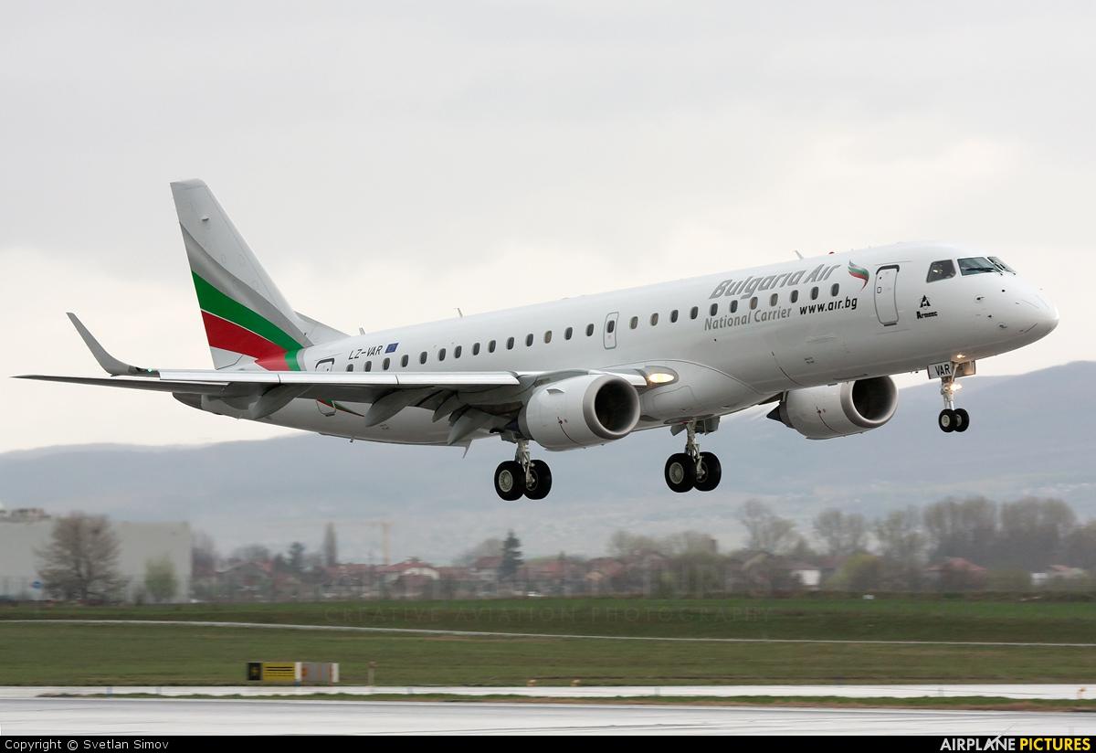 Výsledok vyhľadávania obrázkov pre dopyt Bulgaria Air E190 Foto