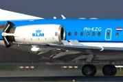 PH-KZG - KLM Cityhopper Fokker 70 aircraft