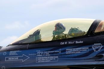 FA-110 - Belgium - Air Force General Dynamics F-16A Fighting Falcon
