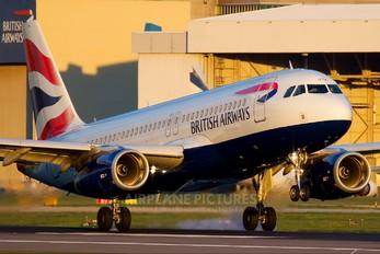 G-EUYM - British Airways Airbus A320