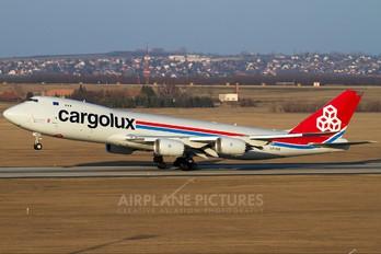 LX-VCD - Cargolux Boeing 747-8F