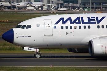 HA-LOJ - Malev Boeing 737-600