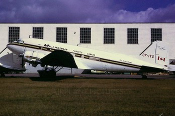 CF-ITQ - Millardair Canada Douglas C-47D Skytrain