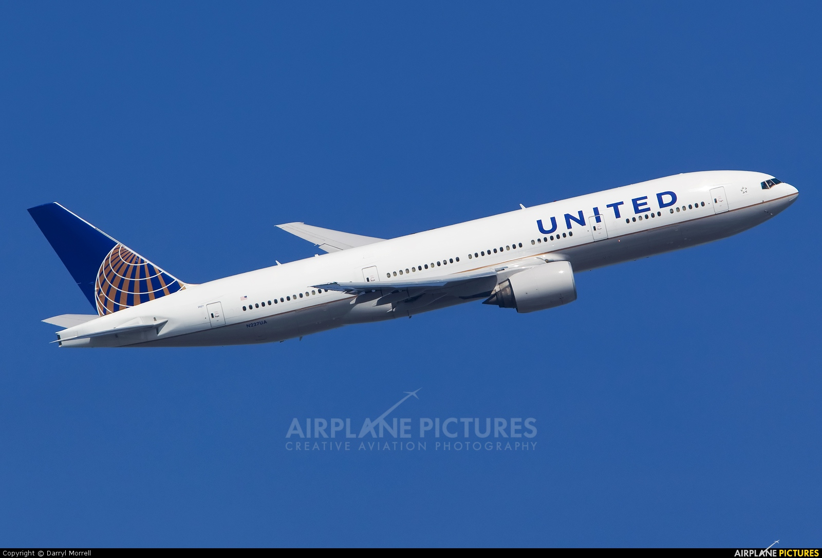 United Airlines N227UA aircraft at London - Heathrow