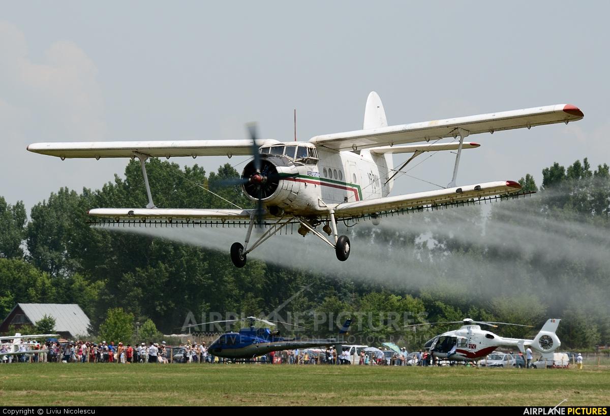 Aero Getic YR-PMW aircraft at Bucharest - Clinceni