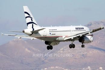SX-DGG - Aegean Airlines Airbus A319
