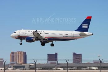 N124US - US Airways Airbus A320
