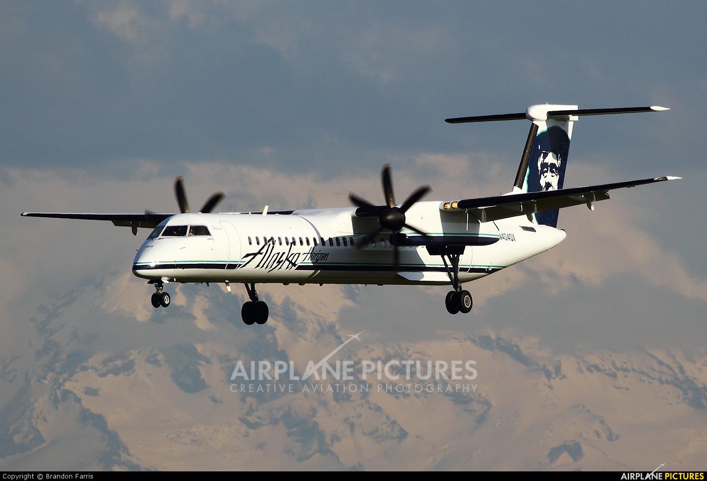 Alaska Airlines - Horizon Air N404QX aircraft at Seattle-Tacoma Intl