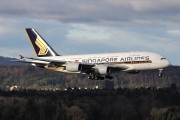 9V-SKM - Singapore Airlines Airbus A380 aircraft