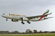 A6-EAO - Emirates Airlines Airbus A330-200 aircraft