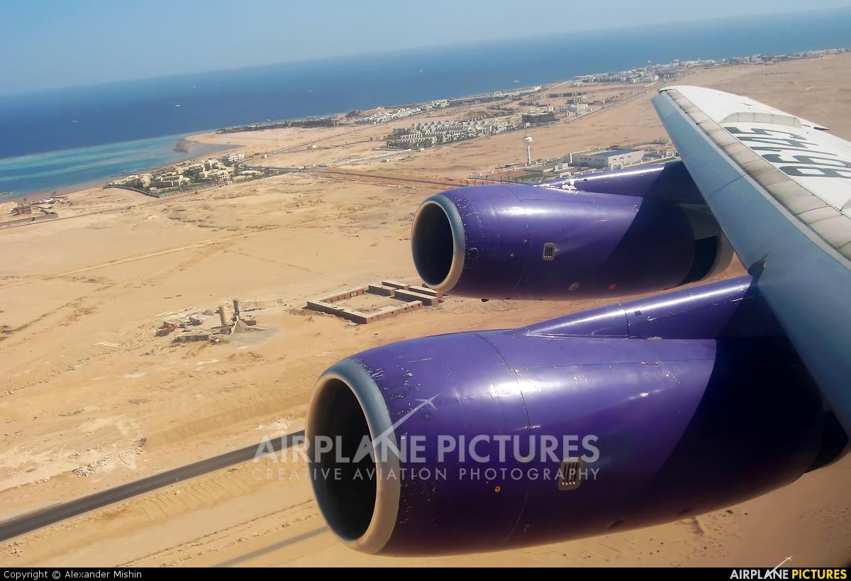 KrasAir RA-86145 aircraft at Sharm El Sheikh