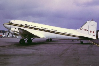 CF-WBN - Millardair Canada Douglas C-47B Skytrain