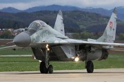 6728 - Slovakia -  Air Force Mikoyan-Gurevich MiG-29AS aircraft