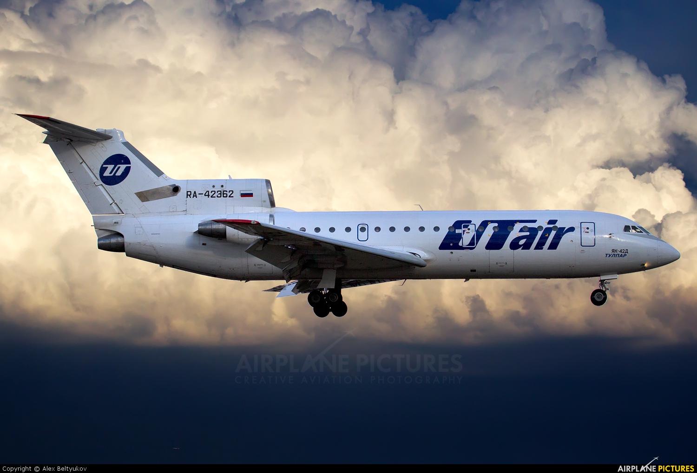 UTair RA-42362 aircraft at Moscow - Vnukovo