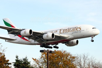 A6-EDA - Emirates Airlines Airbus A380