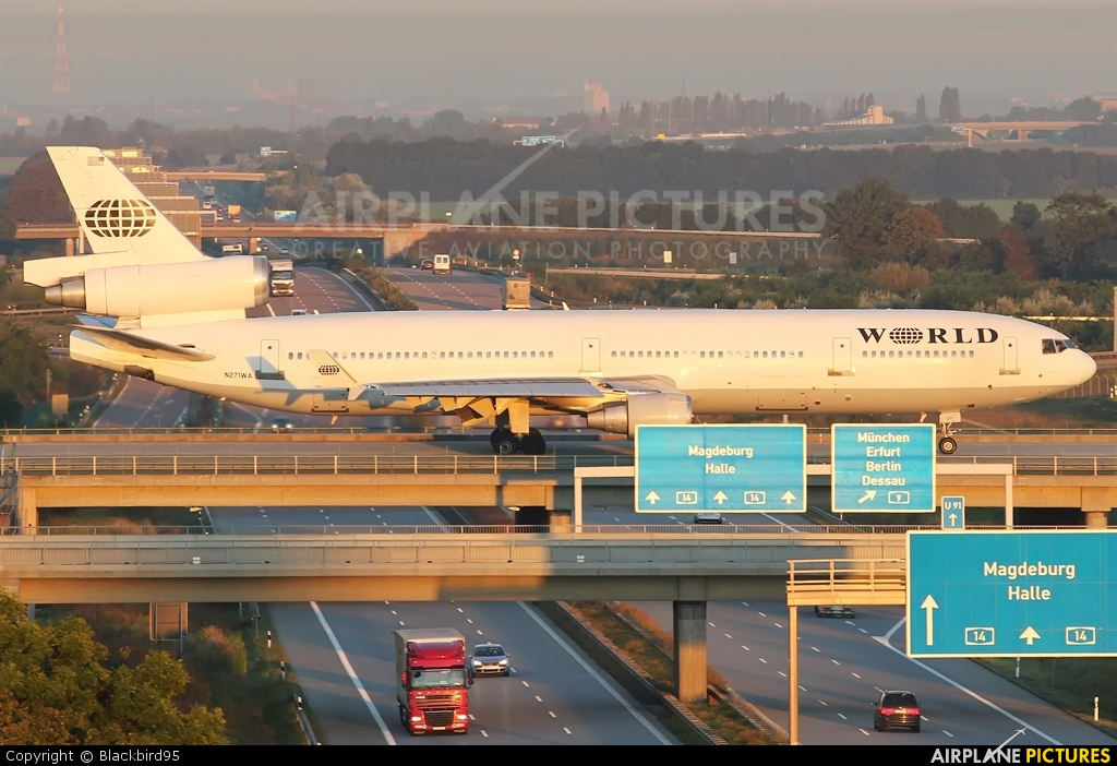 World Airways N271WA aircraft at Leipzig - Halle