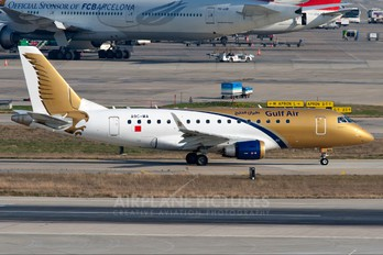 A9C-MA - Gulf Air Embraer ERJ-170 (170-100)