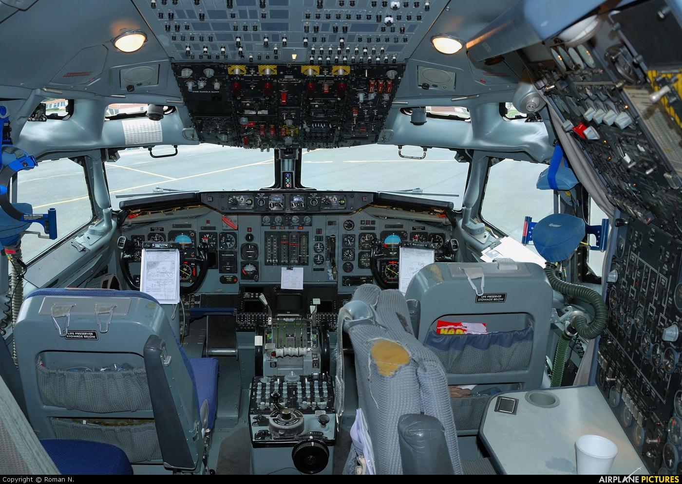 NATO LX-N90445 aircraft at Sliač