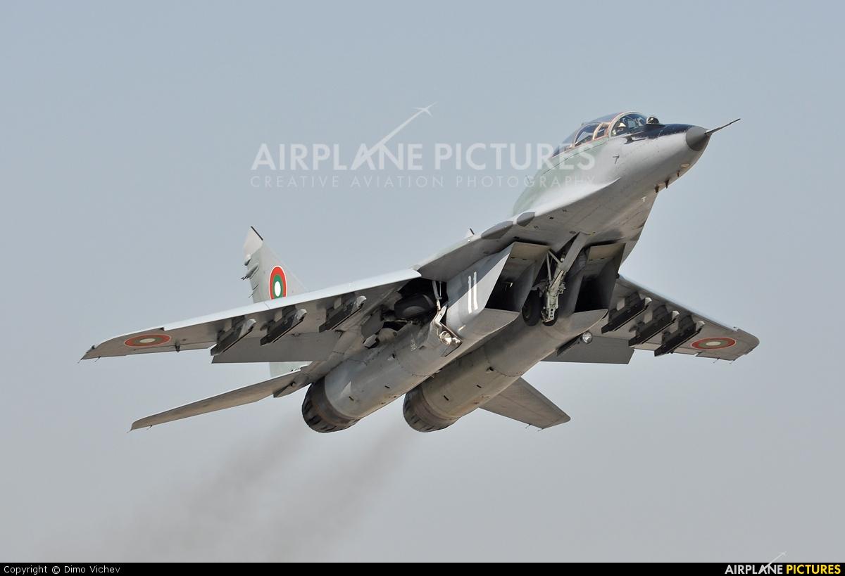 Bulgaria - Air Force 11 aircraft at Graf Ignatievo