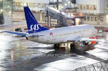 LN-BUE - SAS - Scandinavian Airlines Boeing 737-500