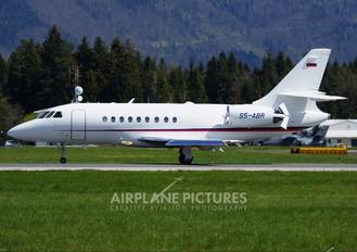S5-ABR - Slovenia - Government Dassault Falcon 2000 DX, EX