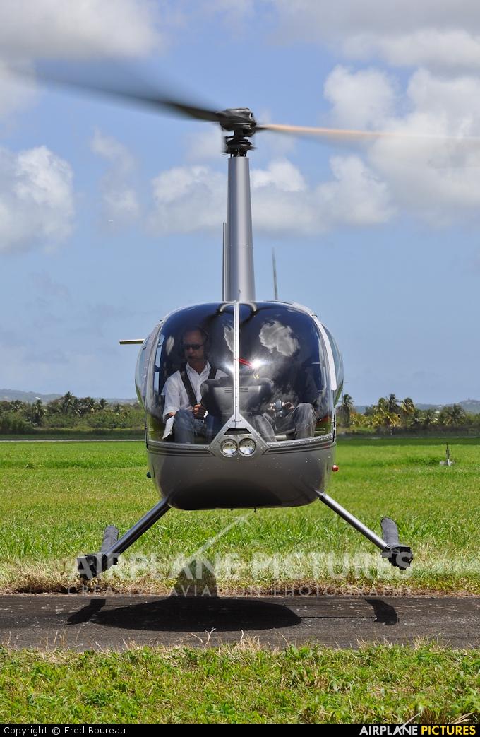 Heliblue F-OKCL aircraft at Martinique - Aimé Césaire