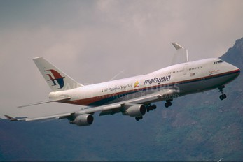 9M-MPA - Malaysia Airlines Boeing 747-400