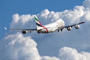 N415MC - Emirates Sky Cargo Boeing 747-400F, ERF