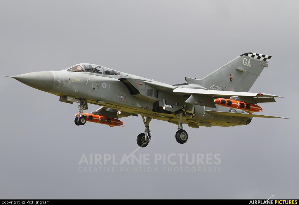 UK - QinetiQ ZE203 aircraft at Boscombe Down