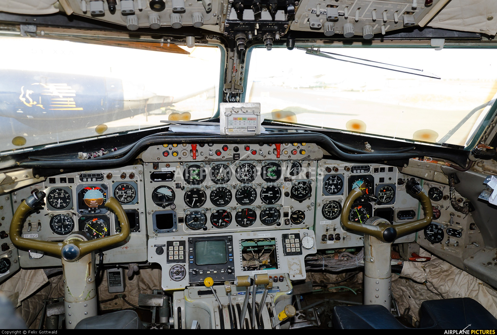 748 Air Services 5Y-BVQ aircraft at Wilson