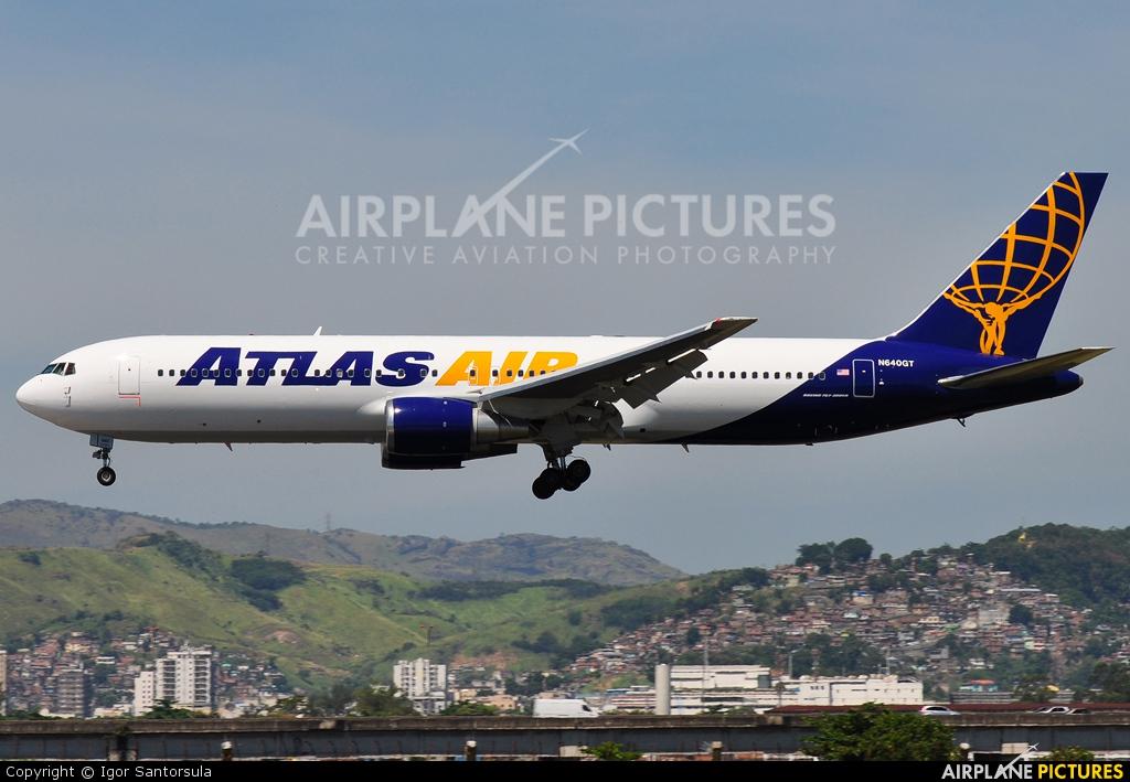 Atlas Air N640GT aircraft at Rio de Janeiro/Galeão Intl - Antonio Carlos Jobim