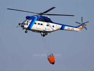 EC-JYE - Helisureste Sud Aviation SA-330 Puma