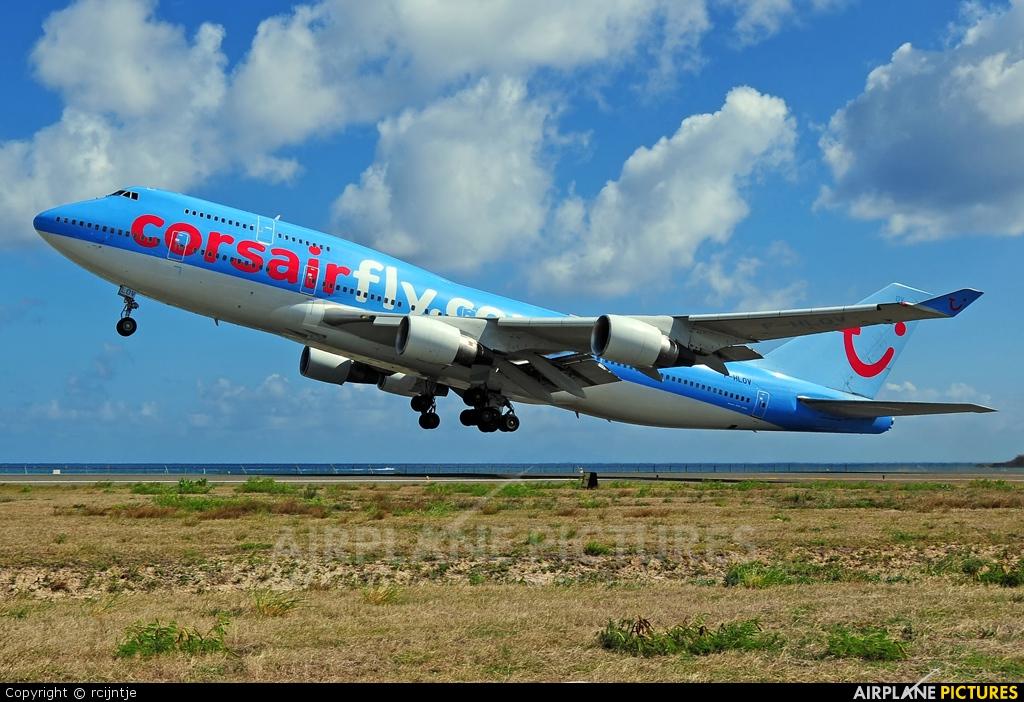 Corsair / Corsair Intl F-HLOV aircraft at Sint Maarten - Princess Juliana Intl