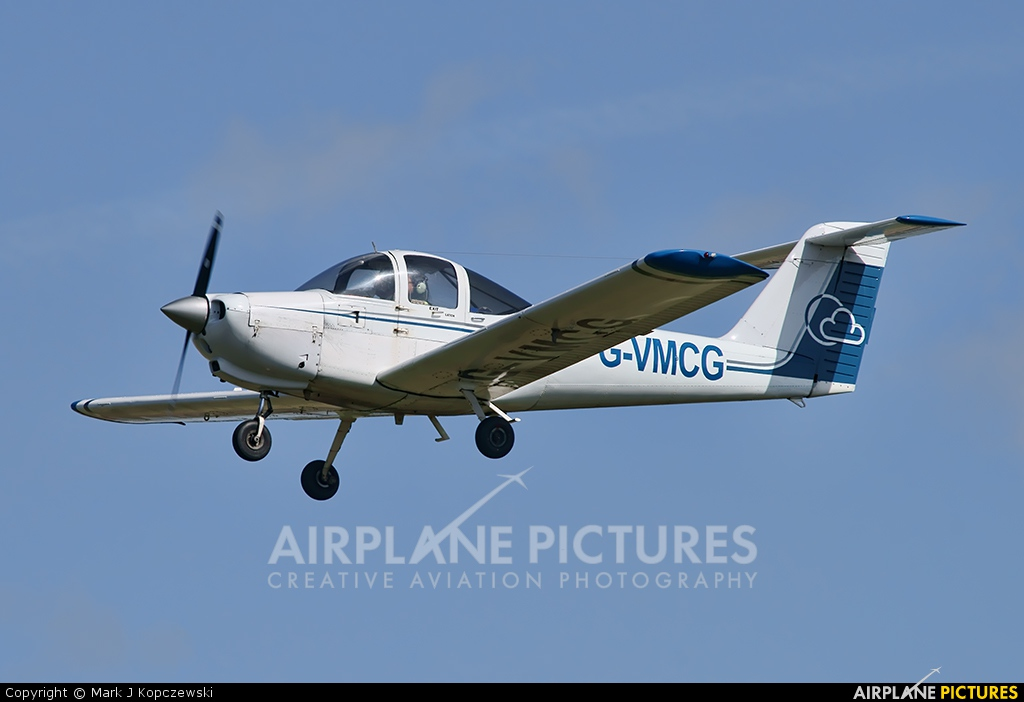 Private G-VMCG aircraft at Liverpool
