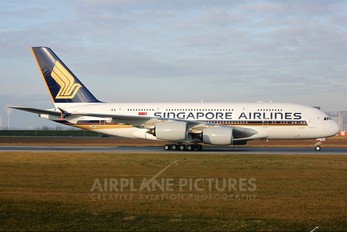 F-WWSH - Singapore Airlines Airbus A380