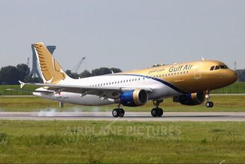 D-AXAL - Gulf Air Airbus A320