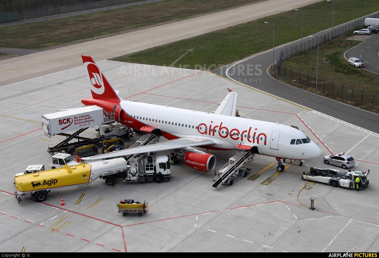 Air Berlin D-ABFF aircraft at Berlin - Tegel