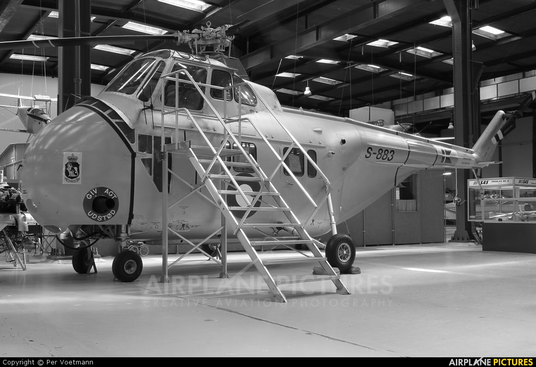 Denmark - Air Force S-883 aircraft at Helsingor - Danmarks Tekniske Museum