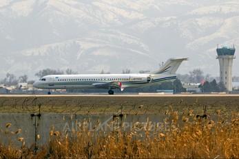 UP-F1004 - Bek Air Fokker 100