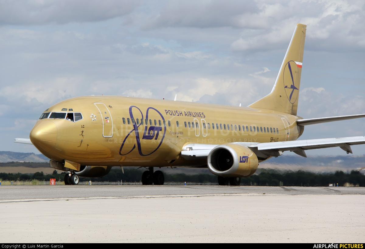 LOT - Polish Airlines SP-LLC aircraft at Madrid - Barajas